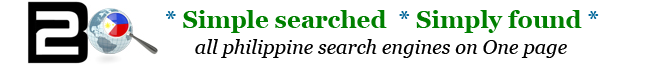 All English Philippine Search Engines on 1 page Philippines Startpage WebSearch